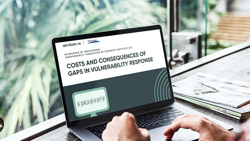 Vulnerability Response ServiceNow Research Report