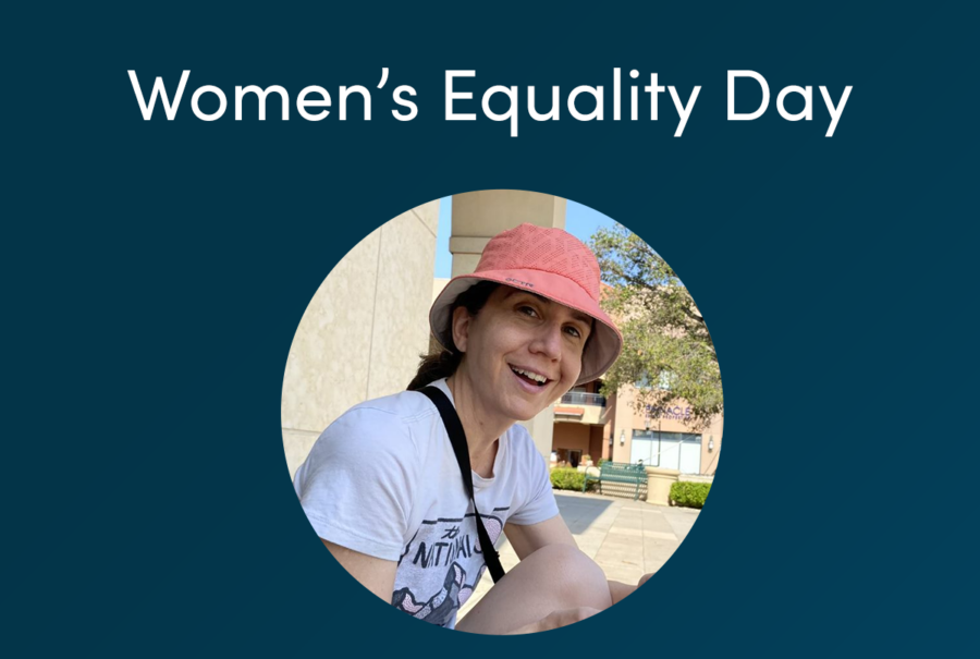 Women's Equality Day - Ruth Moore